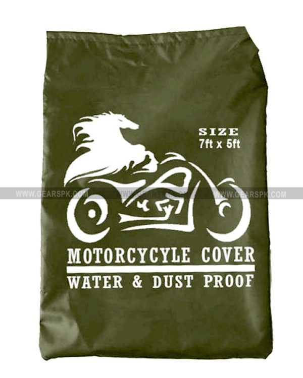 Motorcycle Cover (Army Green)